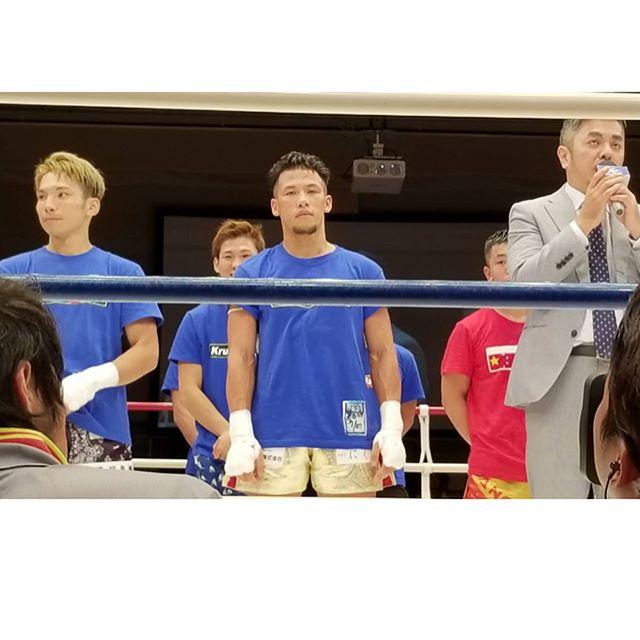 7対7日中対抗戦に大将として出場した弘嵩選手が見事勝利を飾りました!